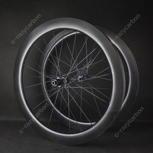 الشحن مجانا! ايرو الدمل طريق قرص الفرامل العجلات الحصى Cyclecross الكربون الدمل عجلات لايحتاج / أنبوبي DT Novatec محاور سنتر لوك