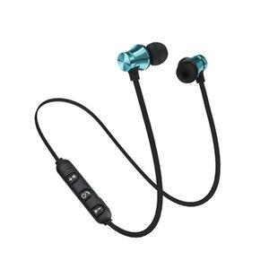 XT11 Wireless Headphones Bluetooth magnetici senza fili Esecuzione Sport AURICOLARE BT 4.2 con microfono MP3 Auricolare per gli smartphone