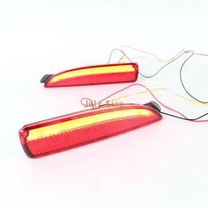 July King Car LED Rear Bumper Brake Lights Case for Mazda 6 Atenza 2013-2017, Night Running Warning Lights + Turn Signals + Brake Light
