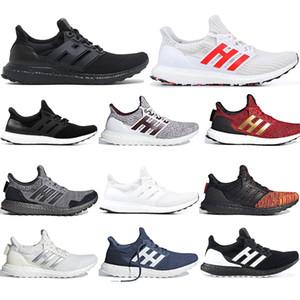 Adidas Ultra Boost 3.0 4.0 Triple Nero Bianco Primeknit Oreo CNY grigio Uomo Donna Running Shoes ultraboost sport 2019 Luxury Designer Sneakers