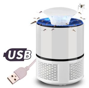 Elektrische Moskito-Mörder-Lampe USB-Photokatalysator Moskito-Mörder-Fliegen-Motten-Wanzen-Insekt-Trap-Lampe Mosquito Trap-Led Pest Catcher Licht LSK181