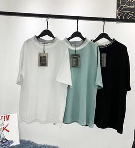 Hot New Marque Designer Hommes Chemises T-shirts d'été de luxe Femmes Mode Haut T-shirts manches courtes Tops Acne Chemises Designer Streetwear 2020779K