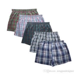 6XL Homens Plus Size Desinger Cueca Moda Boxers Strped Imprimir Calças Curtas Fashion Style Homme Vestuário