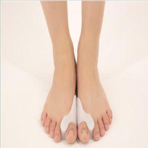 Silicone Gel Bunion Protector Toe Lisseur Separator alignement Soulagement de la douleur Pouce Correcteur Orthèses Soins de pieds