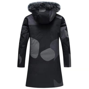 Men&#039s Winter New Desinger Down Coat Men&#039s Down & Parkas with 90% White Duck Down Fox Fur Collar Hooded Casual Thick Co
