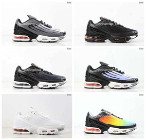 2019 nike air max plus tn Plus III 3 TN Mens desig TUNED Airs Scarpe da corsa Classic Outdoor tn Nero Bianco Sport Shock Sneakers Uomo requin Blue Spider