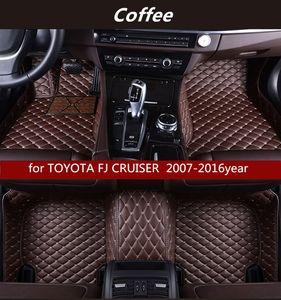 TOYOTA FJ CRUISER 2007-2016year Kaymaz toksik olmayan paspas araba paspası için