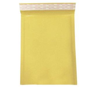 10 Pack Moistureproof Self Seal Enveloppes Sac de papier d'emballage anti-pression postale jaune rembourrée Bubble