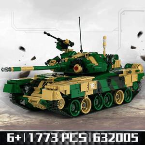 632005 The T-90 Main Battle Tank Set Building Blocks Mattoni assemblati Fai da te Compleanno Giocattoli educativi Divertenti regali di Natale