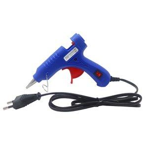 0.7x10cm Tutkal ile Tutkal Tabancası Parantez 20W Sanayi Mini Guns Elektrik Isı Guns Aracı AB Plug Sticks