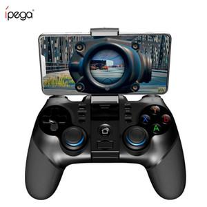 iPega 9156 9157 Suporte Gamepad Bluetooth Joystick flexível iPhone Controlador com Phone Holder Para iOS Android PC TV Box