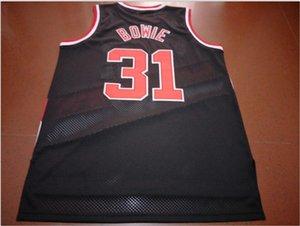 mulheres costume Homens Jovens Vintage Sam Bowie # 31 College Basketball Jersey tamanho S-6XL ou personalizado qualquer nome ou número de camisa