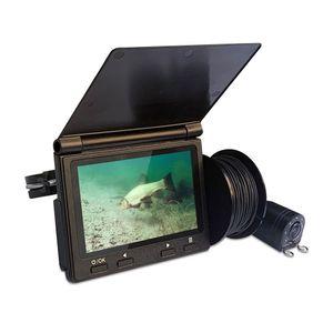 2020 4.3inch ips screen Monitor Underwater Fishing Video Camera 8PCS LED white Lights Fish Finder Camera for Lake Waterproof