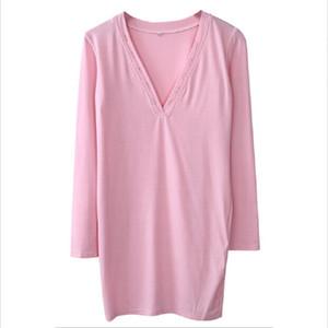 2017 vestido de la manga vestido rosado nuevo de la manera atractiva del V cuello largo vendaje del partido de tarde de las mujeres Vestido lápiz Vestido de Festa