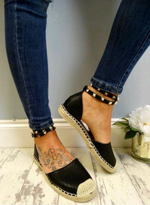 Hot Sale-NEW Femmes Flat ComfortableSize 35-43 Chaussures Casual Chaussures Mujer Taille 35-43 YP-87
