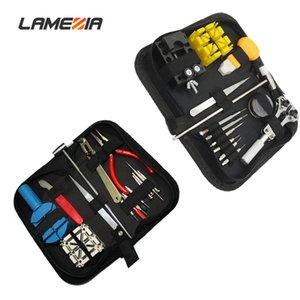 LAMEZIA 13 16 pcs set Professional Watch Repair Combination Clocks And Watches Dismantle Tool Watchband Organ Open Meter Kit