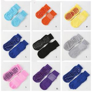Meias bebê Crianças Yoga trampolim Meias antiderrapante de silicone Meias Thicken antiderrapante Glue Tornozeleira Doce Sports Piso Socks Calcetines CZYQ5407