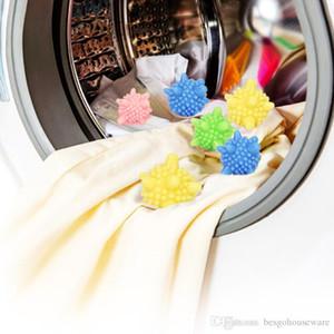 تطهير الكرة غسيل البلاستيك الغسيل آلة الملابس المنزلية BH0082 مكافحة التفاف تنظيف الملابس حماية كرات التنظيف الكرة وا Fapj