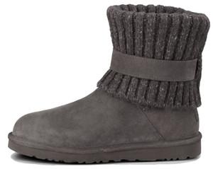 Nouveau Designer Bottes de neige Femme Mode de haute qualité en cuir suédé véritable Australie classique hiver chaud Botas femme mens chaussures en plein air décontracté