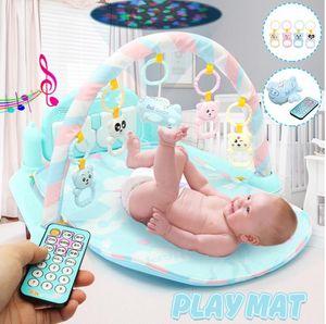 Music Baby Play Mat Gym 3 in1 Newborn Infant Baby Musical Piano Play Mat Blanket Kids Activity Carpet Crawling Kids Mat