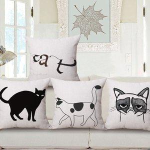 Dış Ticaret Isı Satmak Moda Kitty Set Pamuk Yastık Tutun