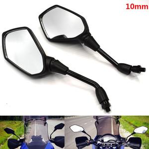 Для универсальный мотоцикл 10мм руль заднего вида боковое зеркало Зеркала заднего вида для BMW F800S F800ST F650GS F800GS F800R F700GS