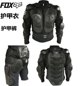 calças Fox equitação da motocicleta roupas armadura motocicleta armadura piloto equipamentos de proteção no peito off-road equitação armadura traje de corrida terno