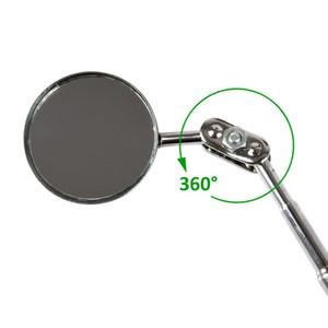 Mantenimiento automotriz de 30 mm Espejo de inspección del chasis Reflector plegable universal Tamaño del espejo de inspección Soldadura Py