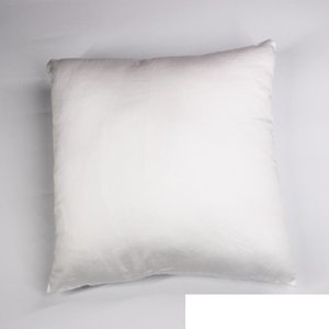 45*45cm DIY Blank Cotton Pillow Cover For Heat Transfer Printing Solid Color Sofa Throw Blank Sublimation Pillow case