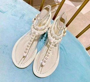 Neue Mode wilde rutschfeste Wohnungen Sandalen sexy bequeme Trend Leder Luxus High Heels Größe 35-40 Nummer: 105