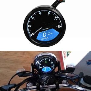 12V LED 주행 오토바이 속도계 백라이트 밤 회전 속도계 게이지 패널 오토바이 디지털 주행 거리계