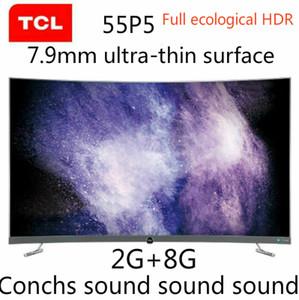 TCL 55P5 55 pollici HD 4K AI intelligenza artificiale 2G + 8G Full Eco HDR Conchs suono Migliore suono spedizione gratuita