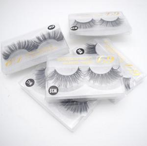 10 styles 3d Mink Hair Fake Eyelash mink HAIR false eyelashes natural Extension fake Eyelashes Reusable 20 pairs free shipping