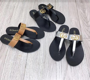 Top Quality Original Style Slippers Genuine Leather Sheepskin Sandals Hot Women 2020 New Fashion Flat Home Beach Shoes Flip Flop