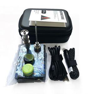Newest Quartz Enail kit electric temperature control box with 14mm male heate Quartz bange nail for dab rigs Nail coil-2