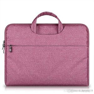 حقيبة كبيرة محمول القدرات حقيبة الكمبيوتر المحمول حقيبة للنساء رجال تجارية (سابقا) السفر للحصول على 11 12 13 14 15.6 بوصة ماك بوك برو PC كم حالة