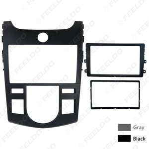 Car Stereo Radio Fascia Panel Frame Trim Dash Face Plate Installation Kit For KIA Cerato Forte Naza Forte Auto AC Aftermarket #5749