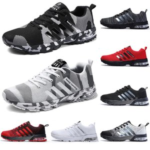 2020 running casual shoes men women black white blue grey Breathable cushion soft mens tainers outdoor sports sneakers size 36-45 Color7
