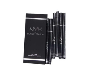 HOT NYX Cosmetics Skinny Eye Marker Waterproof Black Liquid Eyeliner Eye Liner Pencil Make up maquiagem Long Lasting