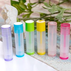 50Pc 5ml의 립스틱 튜브 립 밤 컨테이너 비우기 화장품 용기 로션 컨테이너 접착제 스틱 명확한 여행 병 립 글로스