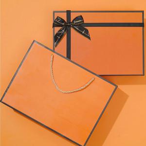 درج ورقة كبيرة هدية مربع التفاف حفل زفاف الأحداث عيد الميلاد هدية صناديق الإحسان أكياس حاملي حزمة تخزين مجوهرات مربع التعبئة