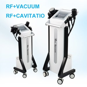 Dernier appareil multifonction cavitation vide rf minceur corps élimination de la graisse formant la machine avec 5 poignées Livraison gratuite DHL