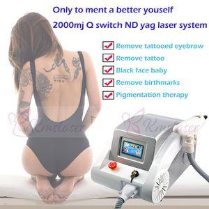 Q Switched Nd Yag Лазерная Татуировка удалить Пигмент Брови Машина Шрам Удаление Акне бесплатная доставка