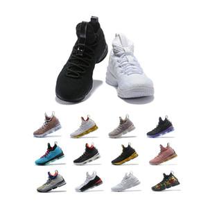 2020 شحن مجاني الرجل مصمم أحذية basketballl الخامس عشر ثلاثية الرياضية الأرجواني أسود الاحذية يندون جونسون المدربين الأحذية