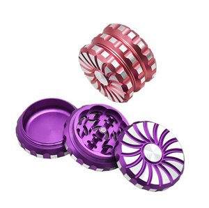 Smerigliatrice rotante in lega di alluminio a tre strati per giradischi a leva in metallo Smerigliatrice di fumo in metallo in Europa e America