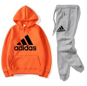 Outdoor Sports Man Women Hoodie Sweatshirt Men Women Hoodies Sweatshirts+Sweatpants Suits Autumn Winter Fleece Hooded Pullover FS#039