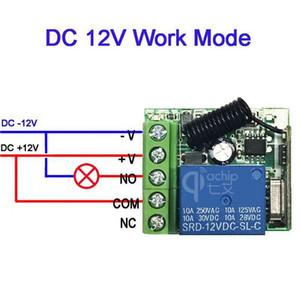 20PCS 433MHZ 범용 무선 원격 제어 스위치 DC 12V 1 채널은 수신기 모듈 3PCS RF 송신기 릴레이