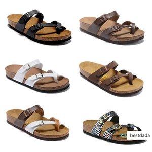 brang Mayarí Florida Arizona 2019 caliente verano de la venta mujeres de los hombres zapatillas sandalias de corcho pisos unisex zapatos casuales zapatillas de playa AT07