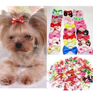 Assortiti Pet Dog Cat Archi Dei Capelli con elastici Grooming Accessori Carino Pet Headwear Per Cani di piccola taglia Regalo Di Natale