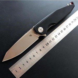 CH 3004 Couteau pliant G10 Flipper D2 roulements à billes lame Couteaux poche de fruits de pêche couteau de cadeaux outils EDC Adfaca pour l'homme